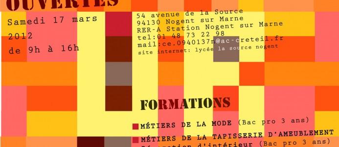 """La journée """"Portes ouvertes"""" 2012"""