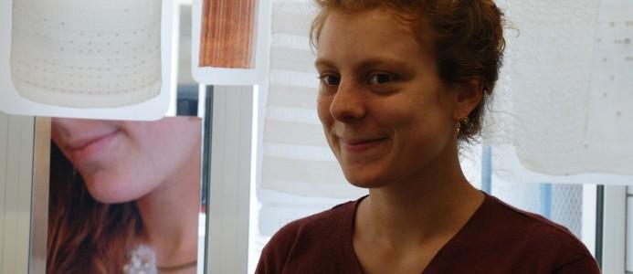 Zoom sur Zoé Montagu, ancienne élève de DMA Arts Textiles
