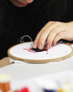 DNMADE broderie