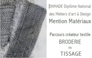 dnmade materiaux broderie tissage